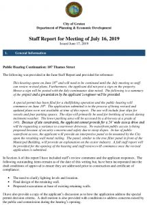 Icon of July Staff Report