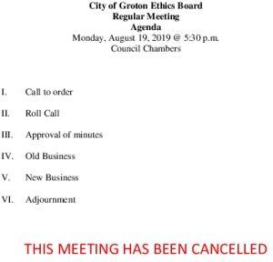 8-19-19 Cancellation