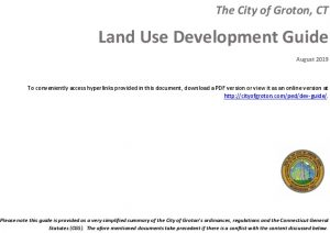 Icon of City Land Use Development Guide
