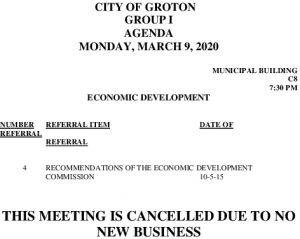 3-9-20 ED Cancellation