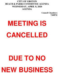 Beach And Parks Committee Agenda Apr 2020