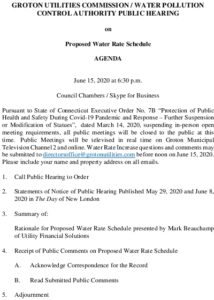 Icon of GUC-WPCA Public Hearing Agenda - WATER RATE 06152020