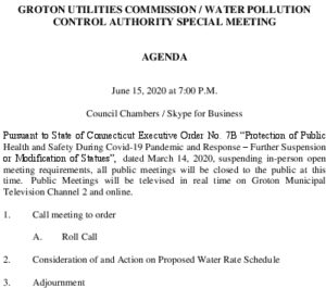 Icon of GUC-WPCA Special Meeting Agenda 06152020