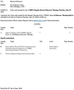 CTMEEC BOD Agenda 06-25-2020