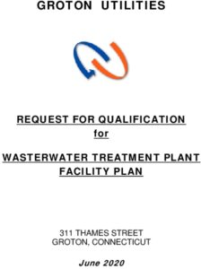 GU Request For Qualifications Wastewater Treatment Plant Facility Plan GU-20-Q5