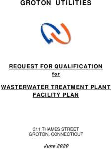 GU Request For Qualifications Wastewater Treatment Plant Facility Plan GU-20-Q5