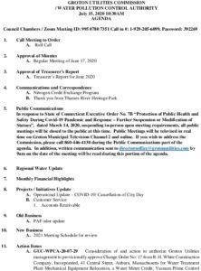 Icon of GUC WPCA Agenda 07.15.2020