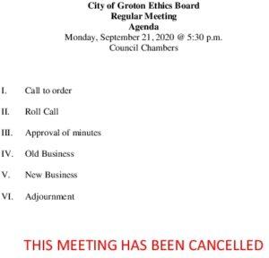 9-21-20 Cancellation