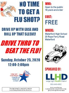 Icon of LLHD Drive Thru Flu Clinic 2020 English