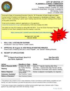 Icon of 10-09-20 Reg Mtg Agenda Rev  10-19-2020