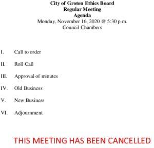 11-16-20 Cancellation
