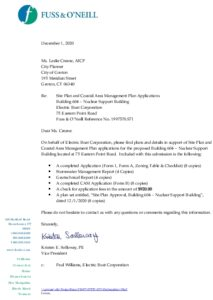 Icon of EB Building 604 - Site Plan And CAM Application 12-1-2020 - Signed