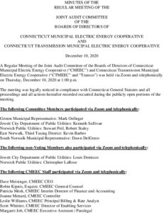 Icon of CMEEC Audit Committee Minutes 12-10-2020