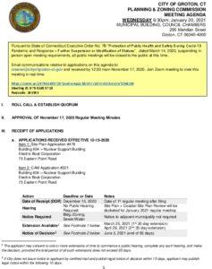 Icon of 01-20-21 DRAFT Reg Mtg Agenda