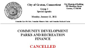 Icon of Group 2 Agenda -  Cancelled