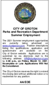 Icon of Ad For Summer Employment