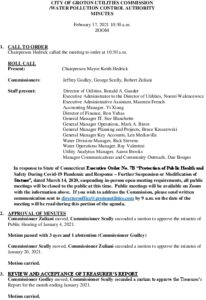 Icon of GUC-WPCA Meeting Minutes 02-17-2021