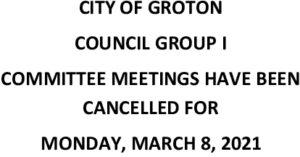 3-8-21 Cancellation