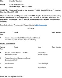 Icon of CTMEEC Board Agenda 03-25-2021
