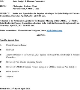Icon of CMEEC Joint Budget And Finance Committee Agenda 04-29-2021