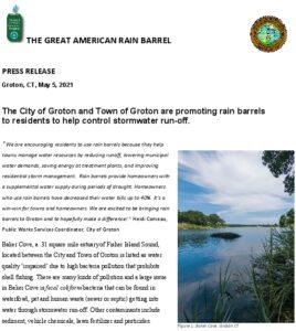 Icon of Rain Barrel Press Release