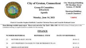 Icon of Group II - Finance Agenda 06-14-21