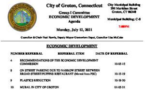 Icon of Group 1 - Economic Development Agenda 07-12-21