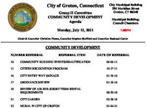 Icon of Group II - Community Development Agenda 07-12-21
