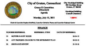Icon of Group II - Finance Agenda 07-12-21