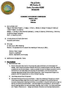 Icon of Economic Development Commission 03-04-15 Docx