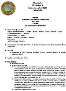 Icon of Economic Development Commission 10-07-15