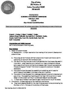 Icon of Economic Development Commission 02-03-16