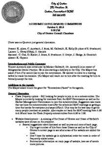 Icon of Economic Development Commission 10-05-16