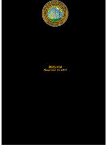 Icon of Economic Development Commission 11-13-19