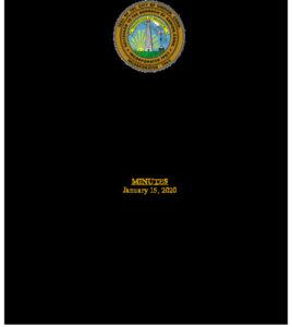 Icon of Economic Development Commission 01-15-20
