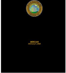 Icon of Economic Development Commission 02-05-20