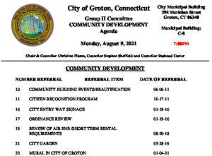 Icon of Group II - Community Development Agenda 08-09-21