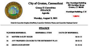 Icon of Group II - Finance Agenda 08-09-21