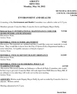 Icon of Environment And Health 05-14-12