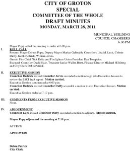 Icon of Committee Of The Whole 03-28-11