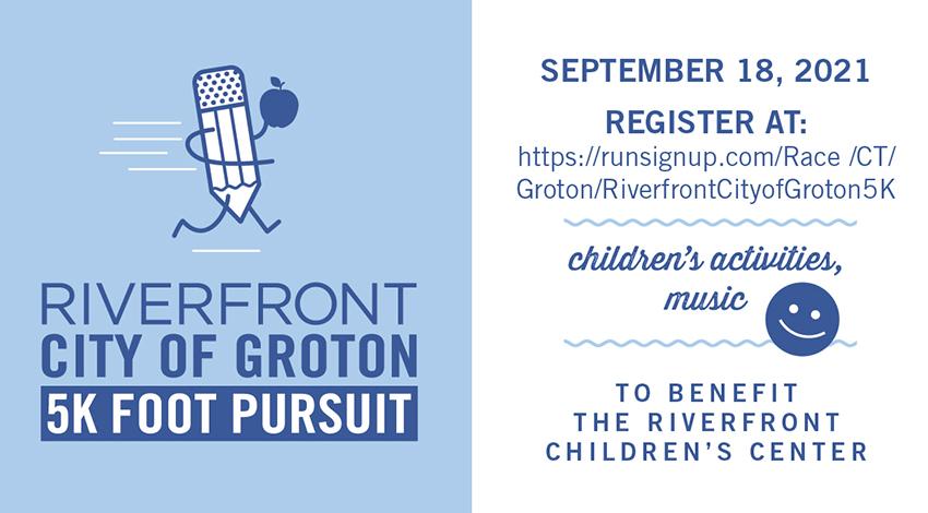 Riverfront Children's Center 5K Foot Pursuit @ Eastern Point Beach