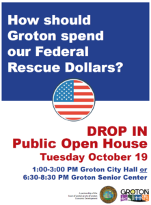 ARPA (American Rescue Plan Act) Funding Open House @ City Hall